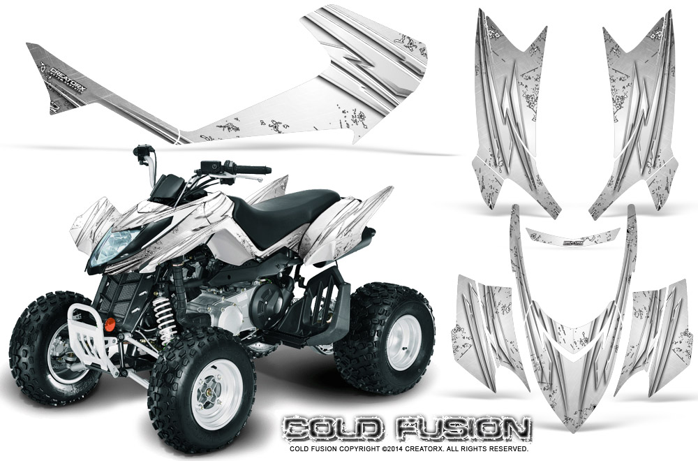 arctic cat dvx400 dvx300 dvx250 creatorx graphics kit cold. Black Bedroom Furniture Sets. Home Design Ideas
