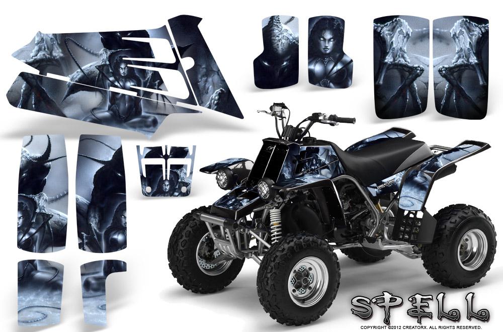 Yamaha Banshee 350 Graphics Kit Creatorx Spell