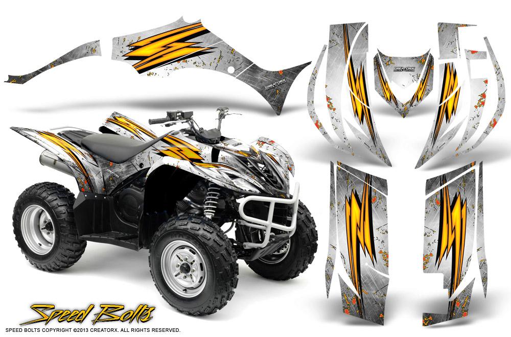 Yamaha Wolverine 2006 2012 Graphics Kit Creatorx Speed
