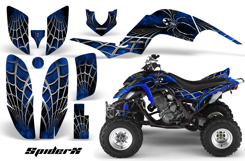 Yamaha Raptor 660 Graphics Kit Creatorx Decals Stickers