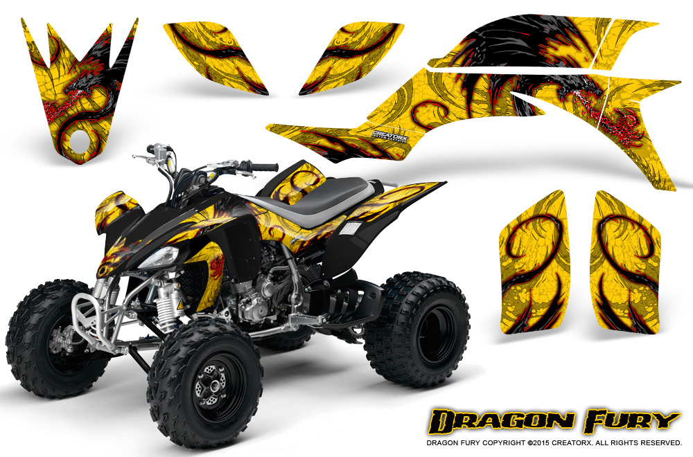Yamaha Yfz 450 03 13 Atv Creatorx Graphics Kit Decals