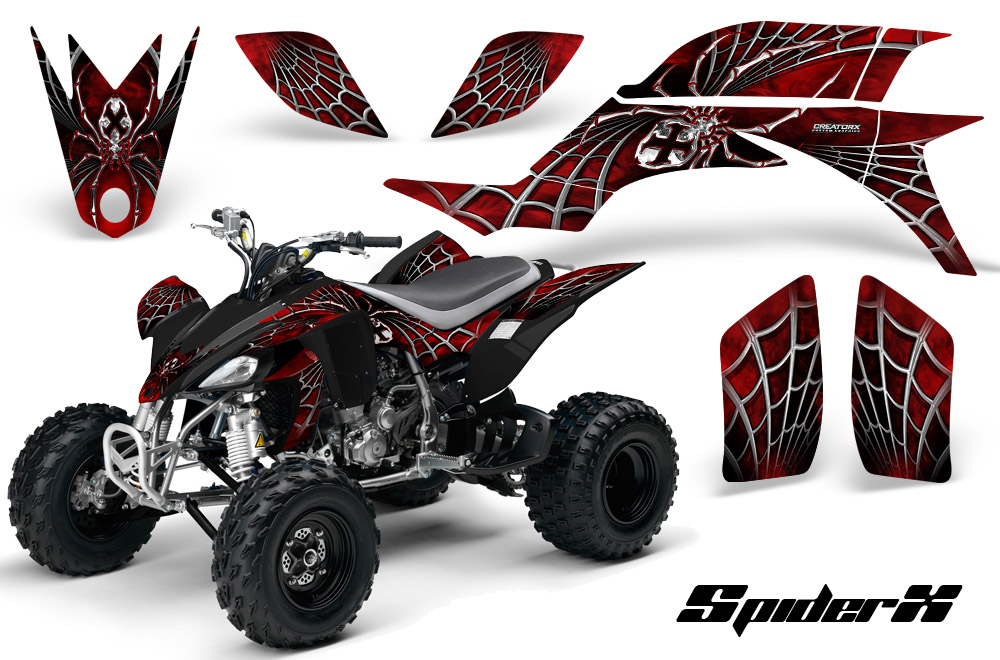 Yamaha YFZ 450 03 08 ATV Graphics Kit Decals Stickers Spiderx RB on on yamaha grizzly 700 ignition wiring, grizzly wiring-diagram, 1995 yamaha kodiak wiring,