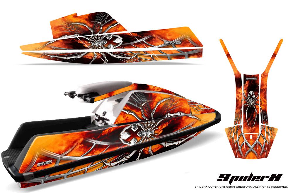 Yamaha Superjet Jet Ski Square Nose Creatorx Graphics Kit