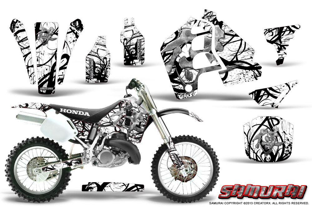 honda cr500 graphics kit 1989 2001