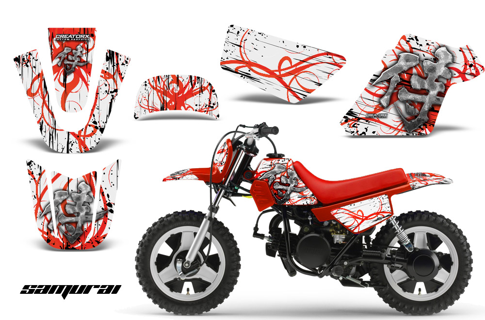 yamaha pw50 creatorx graphics kit decals samurai rw ebay