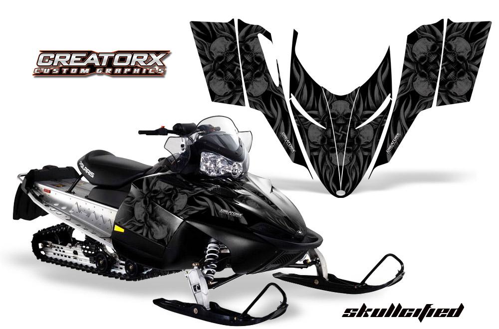 Polaris Shift Rmk Dragon Snowmobile Sled Graphics Kit