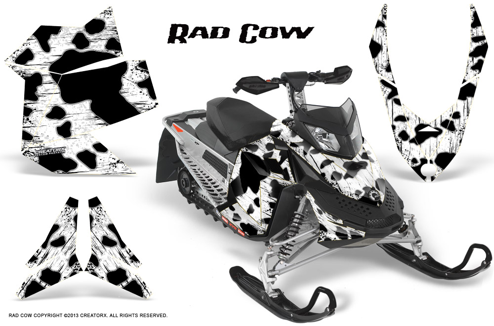 Ski Doo Rev Xp Snowmobile Sled Graphics Kit Wrap Decals