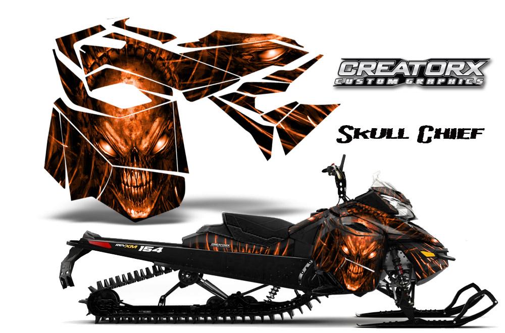 Ski Doo Rev Xm Summit Snowmobile Sled Graphics Kit Wrap