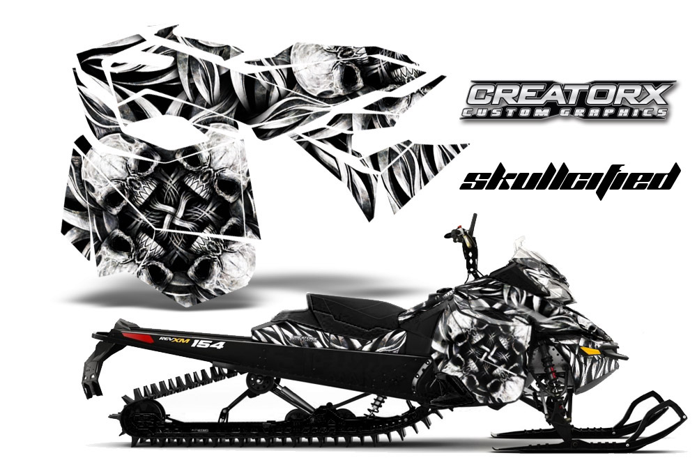 Decal kit ski doo xm