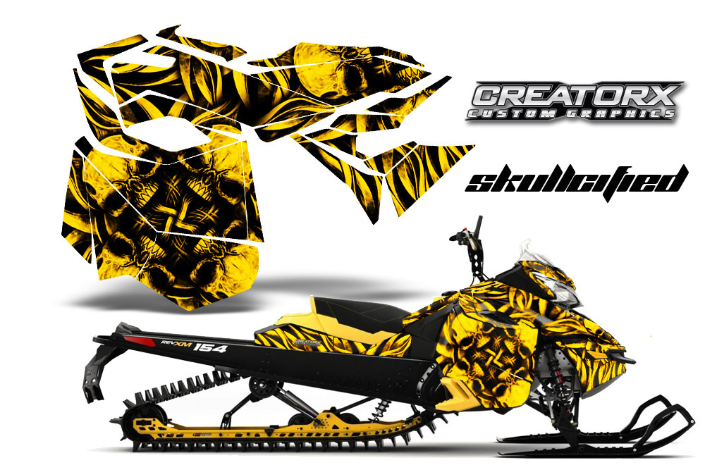 Ski Doo Rev Xm Summit Snowmobile Sled Graphics Kit Wrap