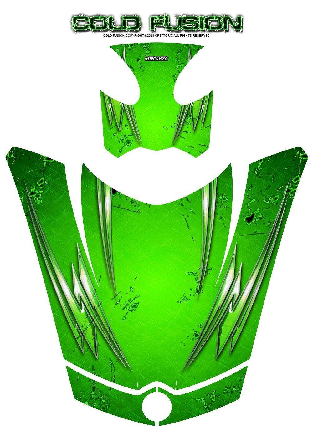 Can Am Brp Spyder Rs Gs Hood Graphics Kit Creatorx Decals