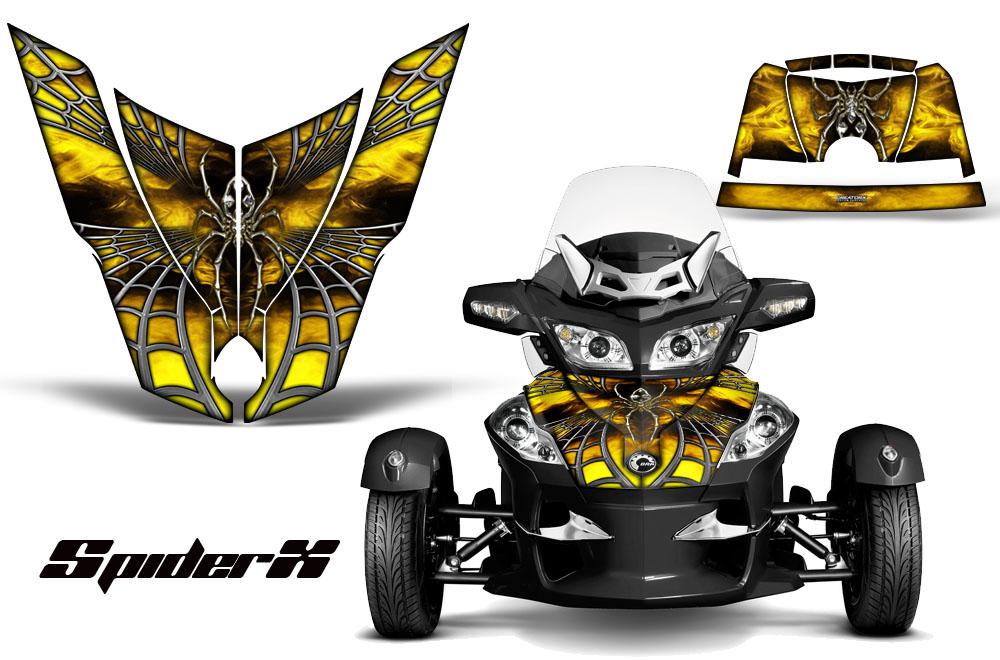 Can Am Brp Spyder Rt Hood Graphics Kit Spiderx Yw Ebay