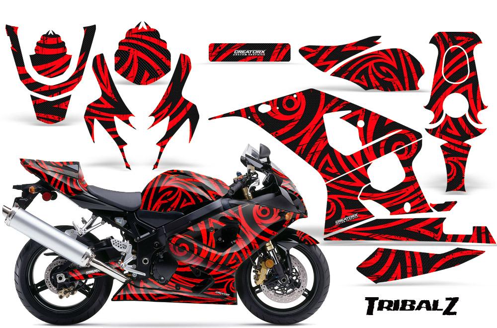 Suzuki Gsxr Gsx 600 750 2004 2005 Graphic Kits Creatorx