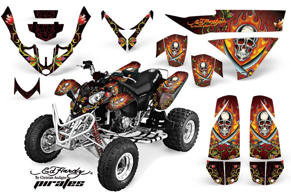 atv polaris predator 560 flame thrower atv tattoo design bild. Black Bedroom Furniture Sets. Home Design Ideas