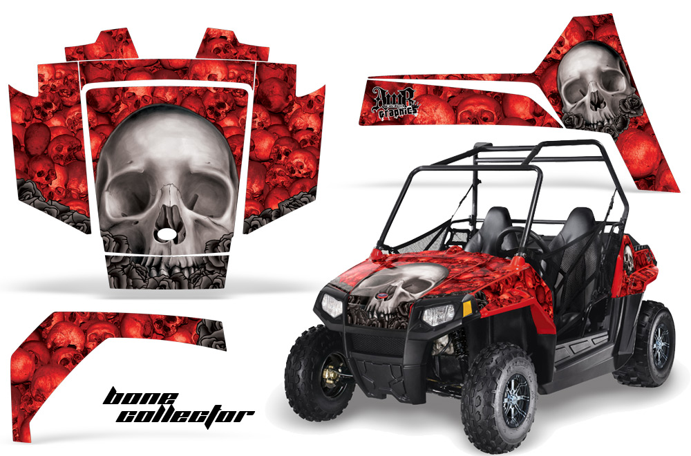 polaris youth rzr 170 side x side utv graphic decal kit. Black Bedroom Furniture Sets. Home Design Ideas
