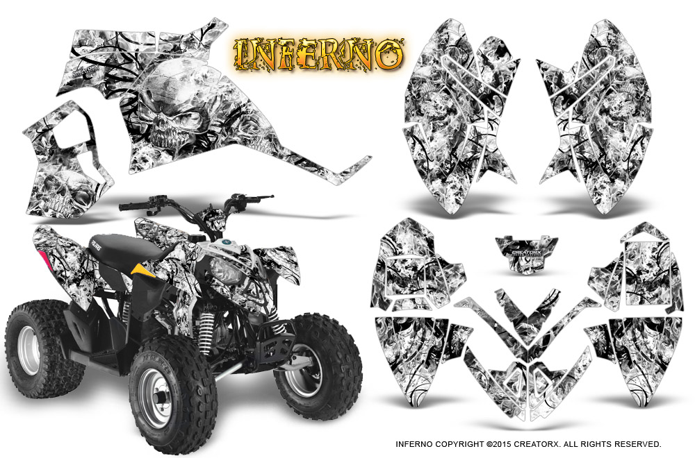 Polaris Outlaw 90 110 2002 2016 Graphics Kit