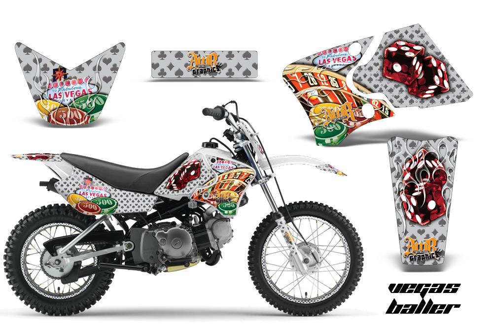 Yamaha TTR50, TTR90 Dirt Bike Graphics Kit - 220