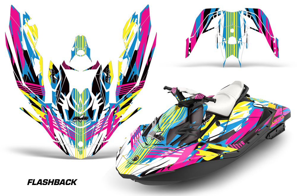 Sea Doo Bombardier >> Sea Doo Bombardier Spark (2 UP) 2015-2016 Jet Ski Graphics Kit