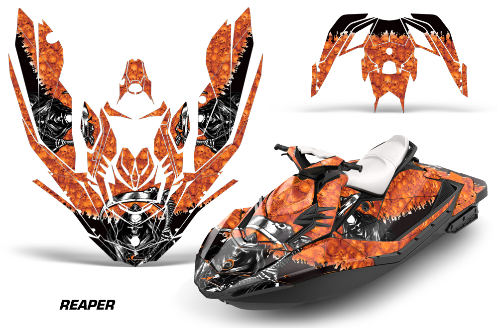 Sea Doo Bombardier Spark 2 Up 2015 2016 Jet Ski Graphics Kit