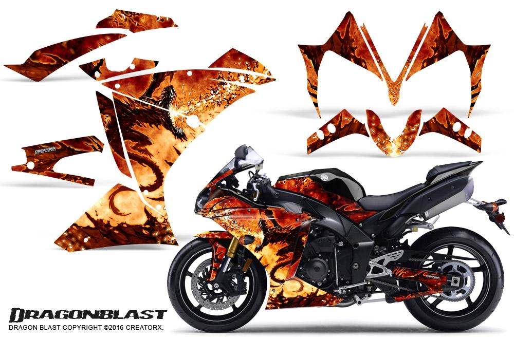 Yamaha R1 Graphic Kits 2010 2012