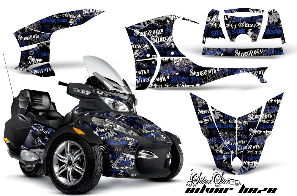 Brp Spyder >> Can-Am BRP Spyder RTS 2010-2013 Graphics Kit