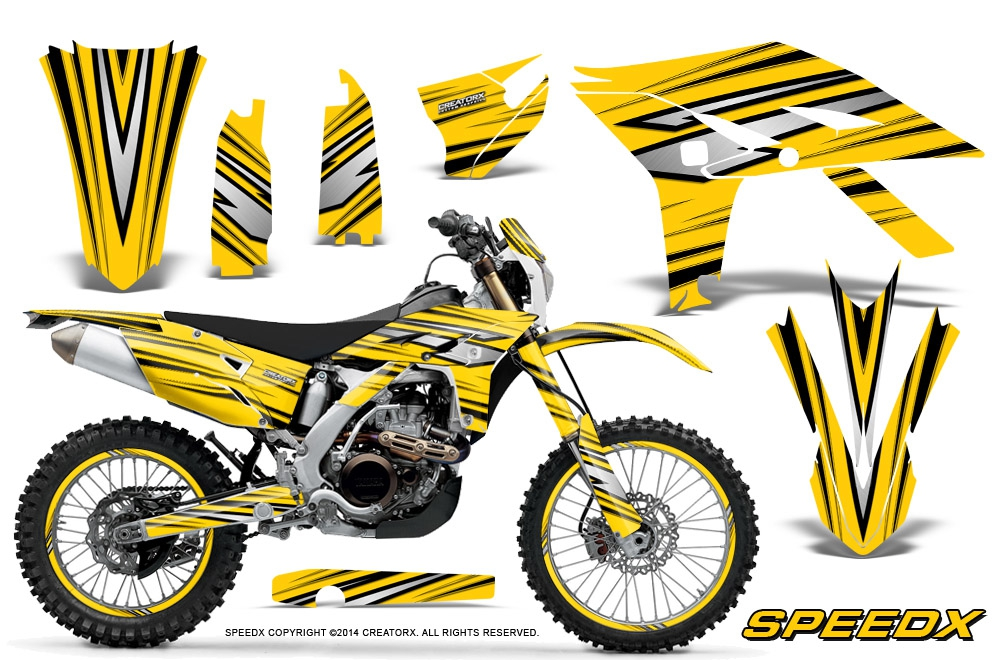 Yamaha WR450F Graphics Kit 2012-2015