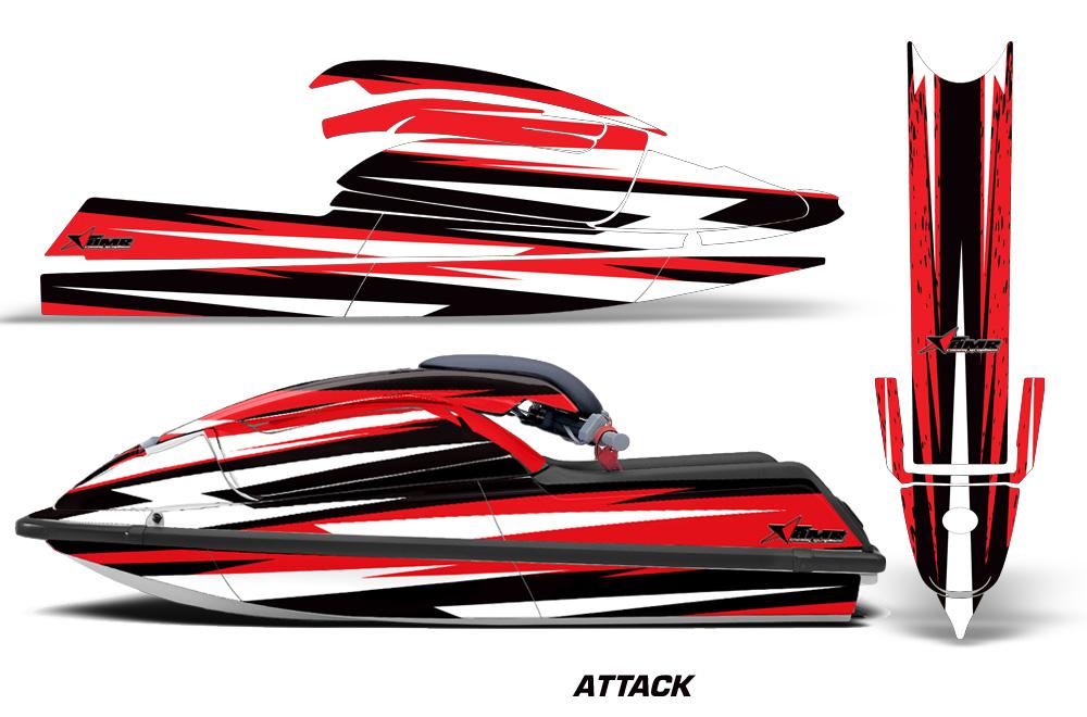 Decal Kits Product : Kawasaki sx sxr jet ski graphics kit