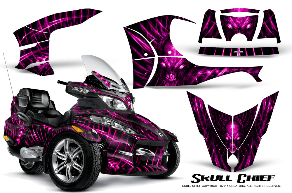 Can Am Brp Spyder Rts 2010 2013 Graphics With Trim Kit
