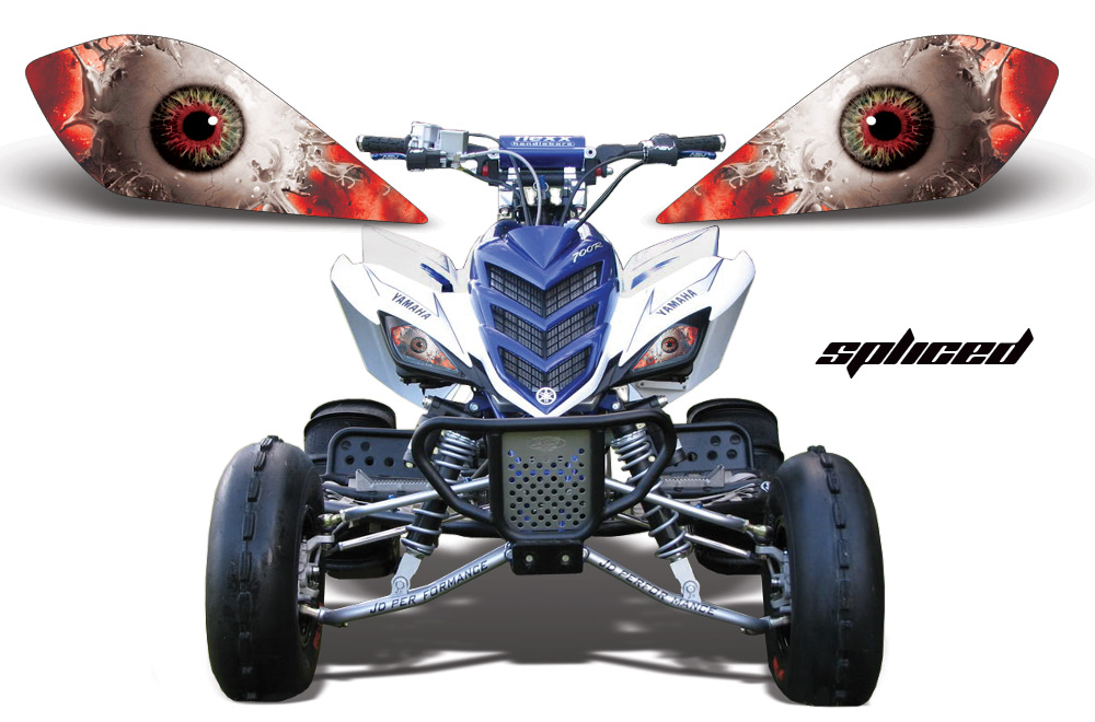 Yamaha Raptor Head Light Eye Graphics For Raptor 700 250 350
