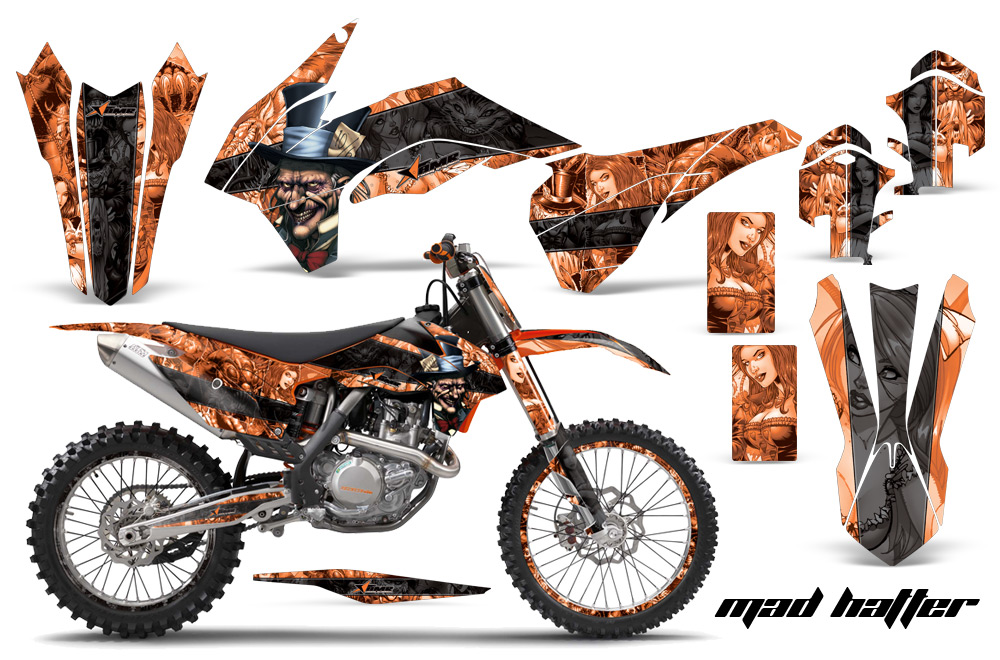Ktm 450 Exc Graphics Kit Pic of Ktm 450 Graphic Kit