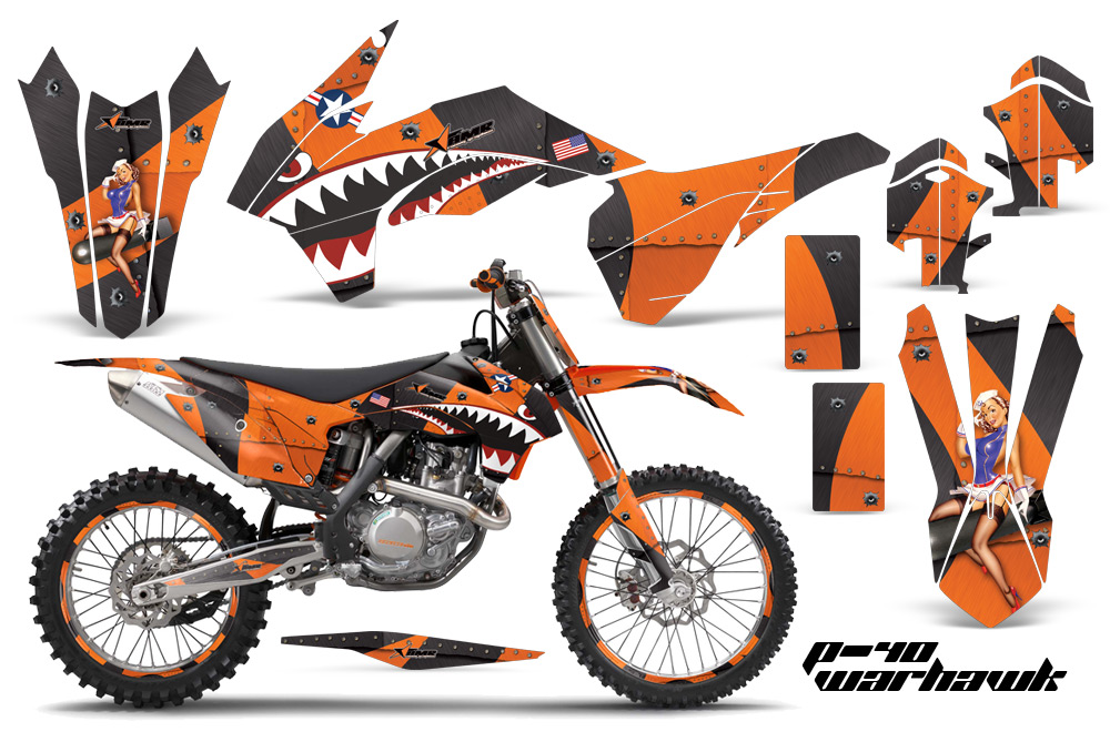 Ktm 450 Exc Graphics Kit Ktm Quad Atv Graphic Kits For