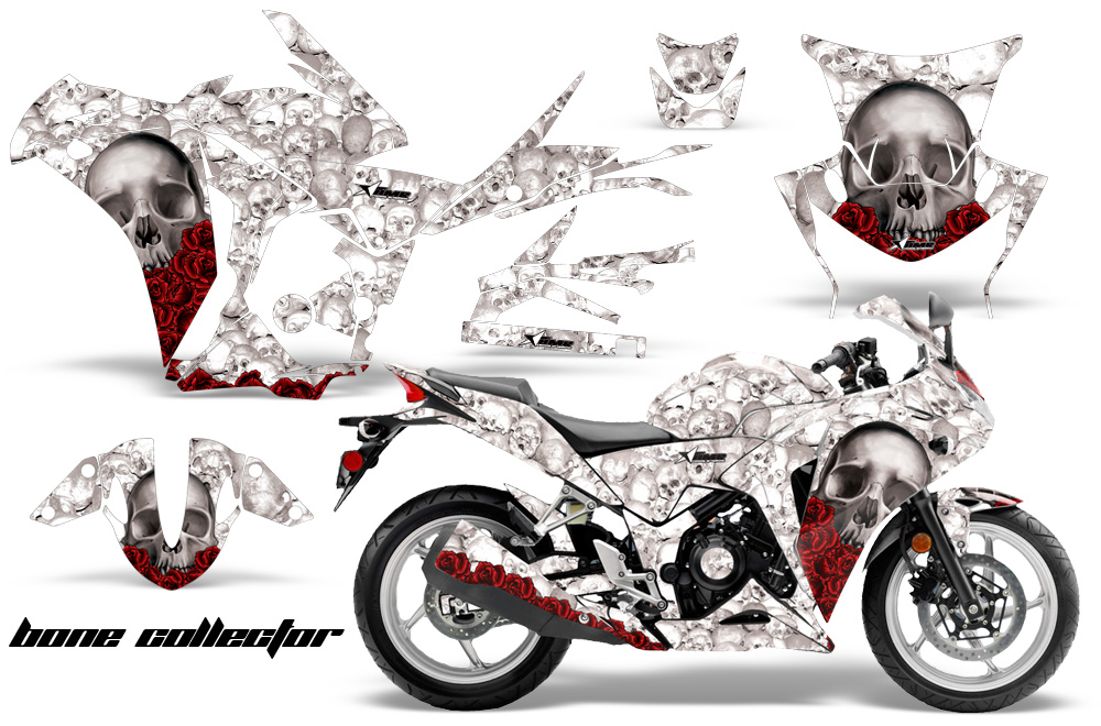 Honda Cbr 250r Sport Bike Graphics Kit 2010 2013