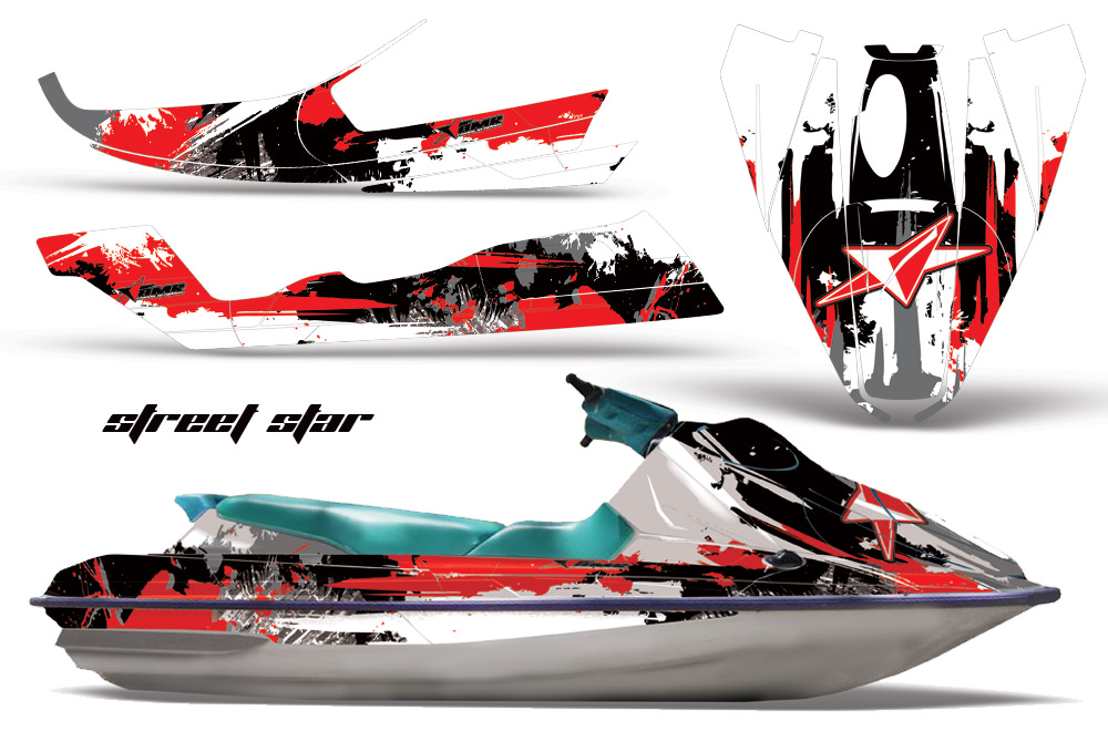 Sea Doo Bombardier Gts Sitdown 1992 1997 Jet Ski Graphics Kit