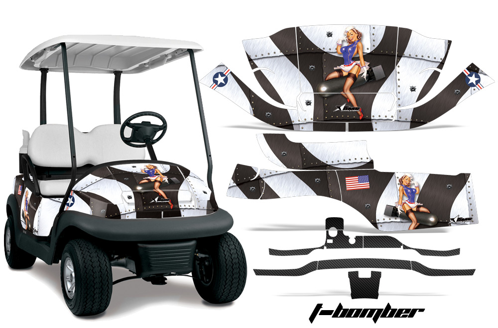Club Car Golf Cart Precedent I2 2008 2013 Graphics Kit