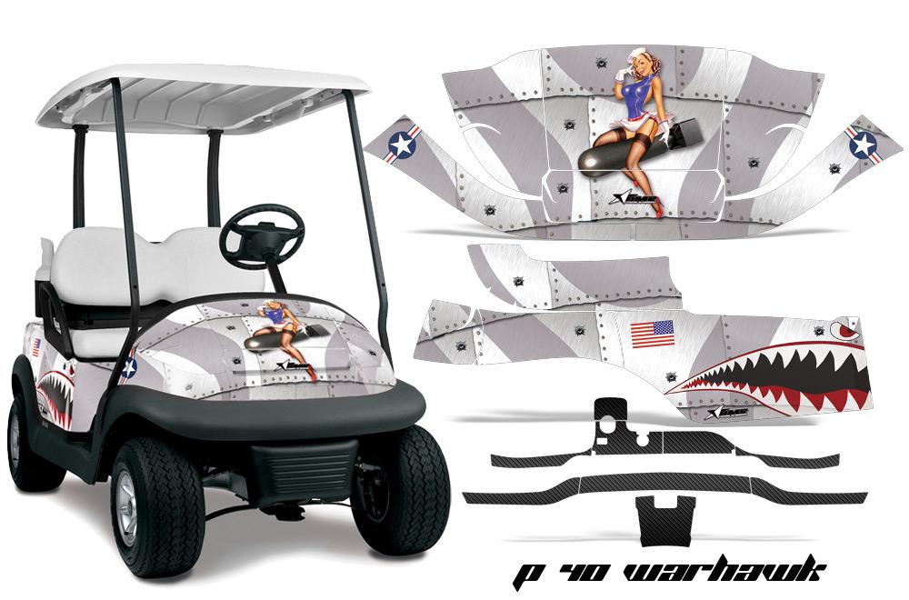 Club Car Golf Cart Precedent i2 2008-2013 Graphics Kit