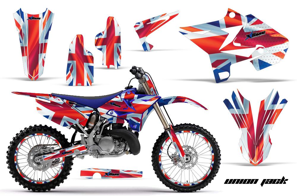 Yamaha yz125 yz250 graphics kit 2002 2014 fits ufo for Yamaha dirt bike plastics
