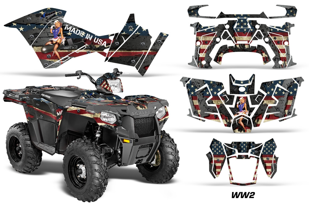 2014 Polaris Sportsman 570 >> Polaris Sportsman 325ETX 450 570 2014-2018 Graphics Kit