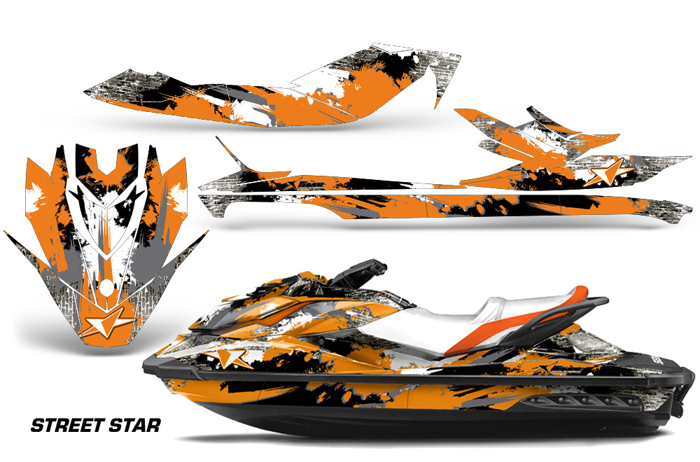 Ski Doo Jet Ski >> Sea Doo GTI/GTR/GTS HD Sitdown 2011-2014 Jet Ski Graphics Kit