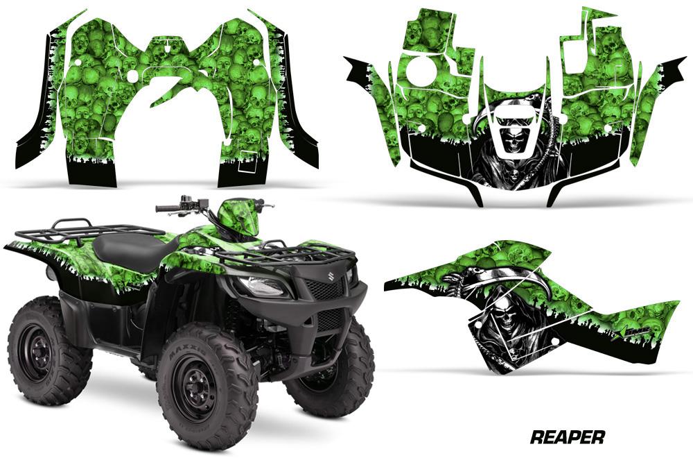similiar king quad axi accessories keywords suzuki king quad 500 axi graphics kit 2013 2015