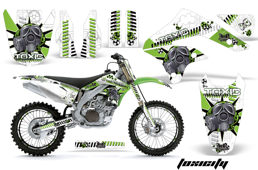 Kawasaki Mx Graphic Kit For Kx450f Kx250 Kx500 Kx125 Kx450