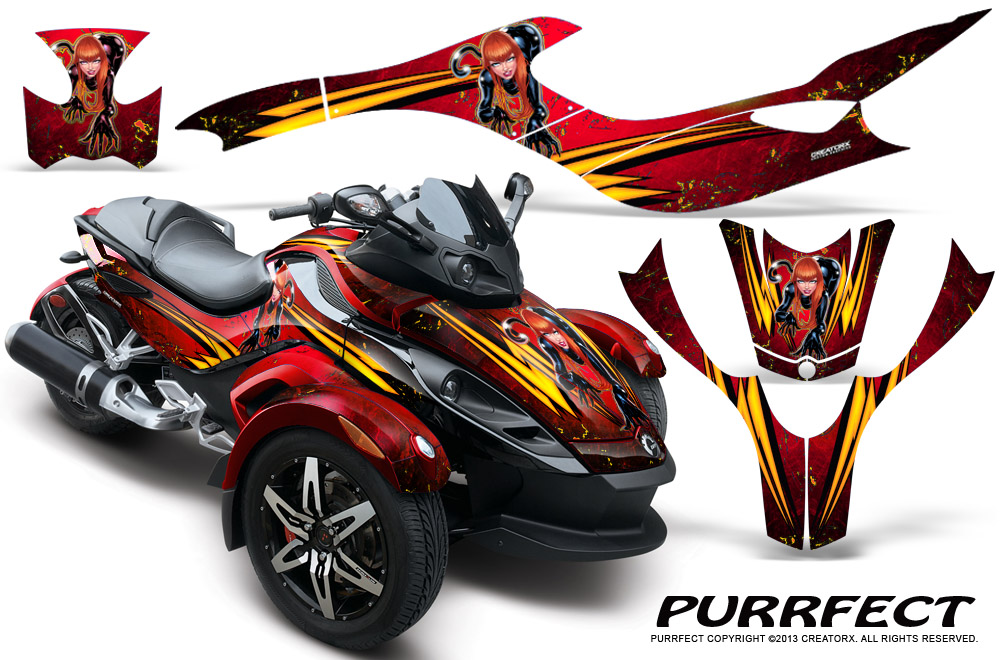 Can Am Brp Spyder Rs Gs Graphics Kit