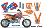 KTM SX 50 Adventurer,Jr,Sr Graphics Kit 2002-2008