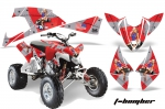 Polaris Outlaw 450 / 500 / 525 Graphics Kit 2009 - 2012