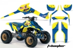 Suzuki LT250, LT250r ATV Quadracer Graphics Kit 85-92