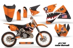 KTM C2 1998-2000 SX, EXC 125-520 Graphics Kit