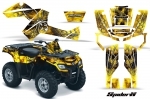 Can-Am Outlander EFI 500 650 800 1000 Graphic Kits 2006-2011