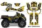 Can-Am Outlander XMR 800R 2011-2012 Graphics Kit