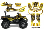 Can-Am Outlander MAX 500 650 800R Graphic Kits 2006-2012