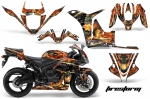 Honda CBR 600RR Sport Bike Graphics Kit 2007-2008