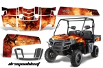 Polaris Ranger 500 XP, 700 XP 4x4 EFI Graphic Kits 2009